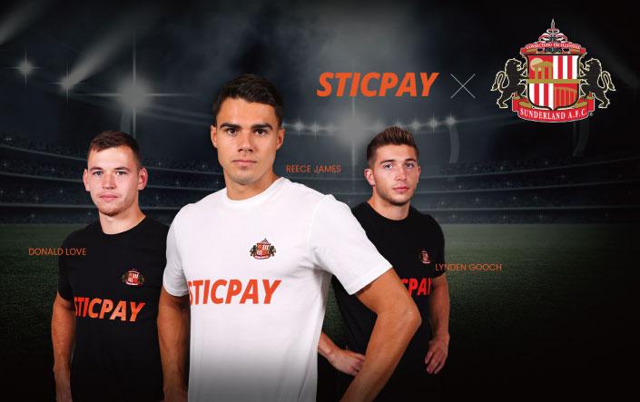 STICPAY(スティックペイ)×SUNDERLAND AFC